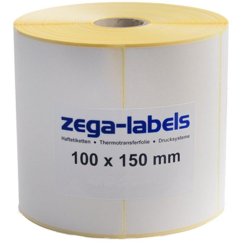500 Thermo Etiketten mit Perfo für DPD Versand 100x150mm für
