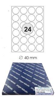 4x10 Etiketten Laser//Inkjet 4.000 Etiketten 52,5 x 29,7 mm auf 100 DIN A4 Bögen