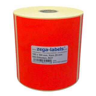 Thermotransfer Etiketten Rolle 55 mm rund 2.000 Stück Kern 76 mm Zebra ZM400